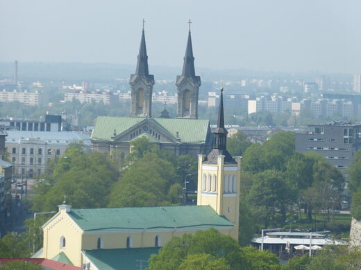 The view from the KGB Museum