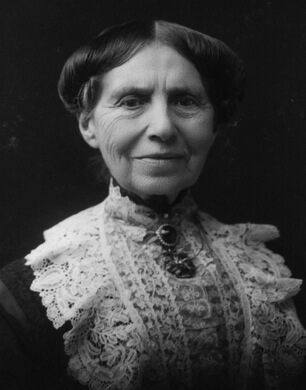 Clara Barton circa 1904 at the age of 82