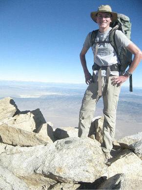 Geologist Eric Kleinsasser