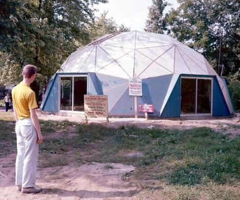 The Fuller Dome Home, circa 1960