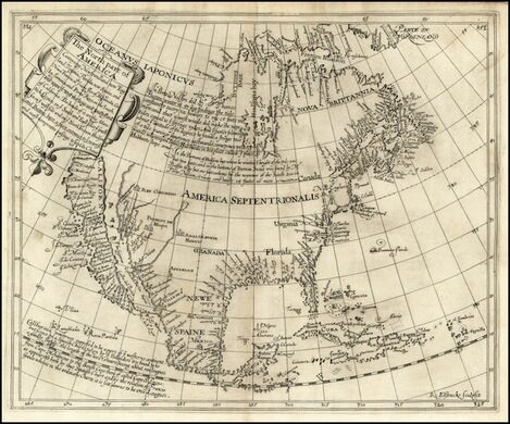 Henry Briggs. The North Part of America Conteyning...the large and goodly Iland of California, from Samuel Purchas, Purchas His Pilgrimes. London 1625.