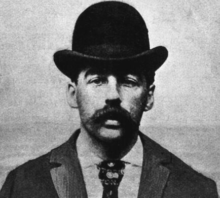 Herman Webster Mudgett (1861 - 1896), better known under the alias of Dr. Henry Howard Holmes