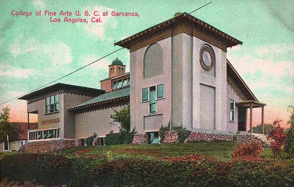 College of Fine Arts USC Garvanza