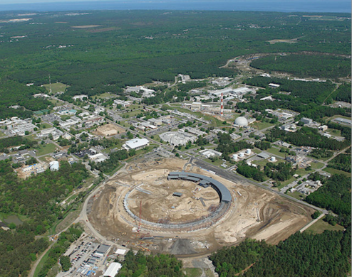 Aerial View of Brookhaven National Laboratory