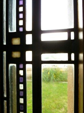 At the Hollyhock House, LA