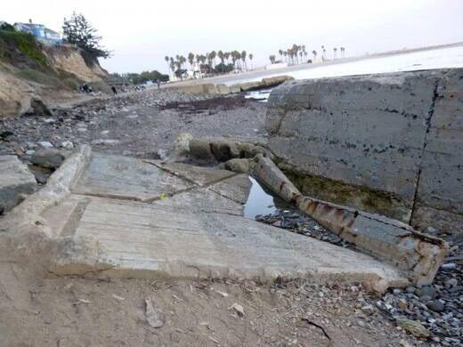Ruins of Cabrillo Beach