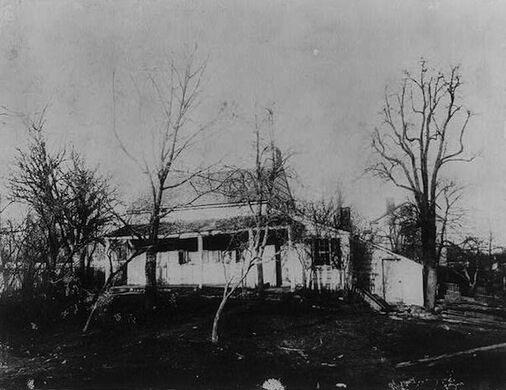 Poe Cottage - 1900