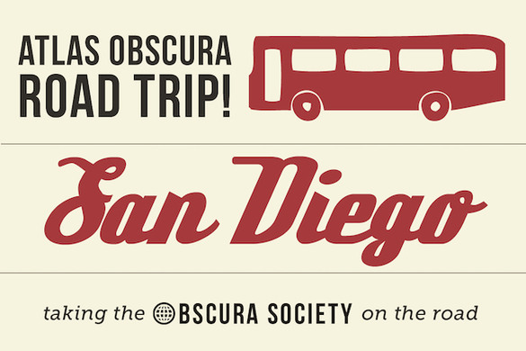Obscura Society La Road Trippin To San Diego Atlas