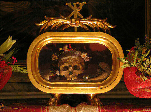 Relics of St. Valentine