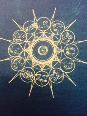 Murphy Ranch blueprint zodiac fountain