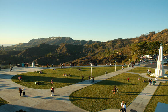 Griffith Observatory Lawn