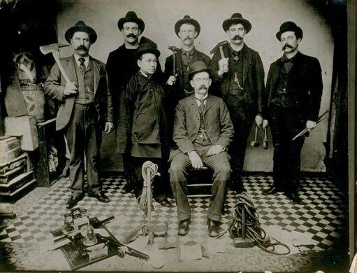 San Francisco's Anti-Opium Squad