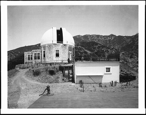Echo Mountain Observatory (Mount Lowe Observatory), 1910