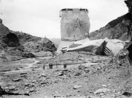 Remains of St. Frances Dam