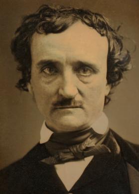 """1849 """"Annie"""" daguerrotype of Poe"""