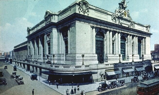 View of Grand Central around 1918