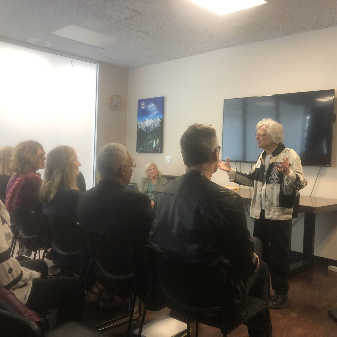 Lecture at Studio School