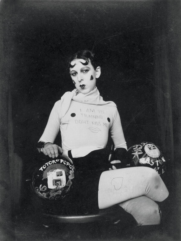 Claude Cahun, I Am in Training, Don't Kiss Me, 1927