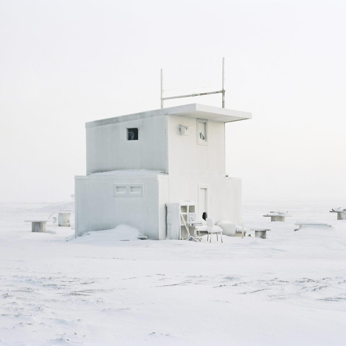Barrow Cabin, Winter.