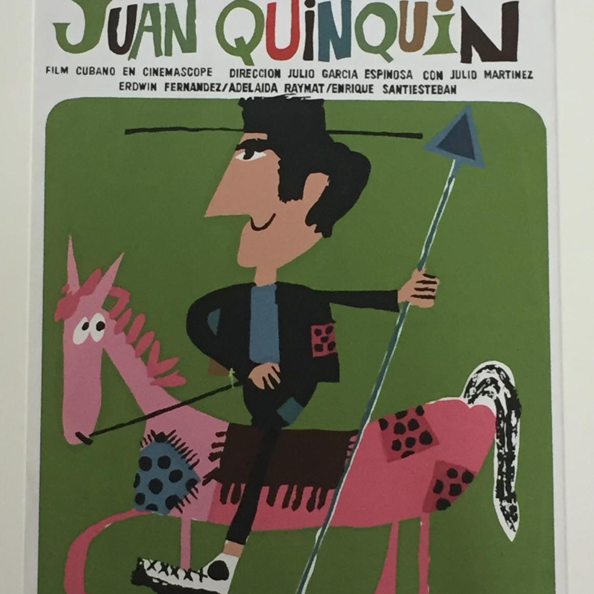 """""""Aventuras de Juan Quin Quin,"""" ICAIC,  Eduardo Muñoz Bachs, 1967."""