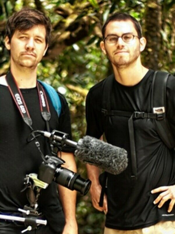 Atlas Obscura founders Dylan Thuras and Josh Foer