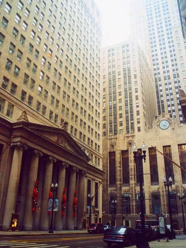 Bank of America Building & Chicago Board of Trade Building