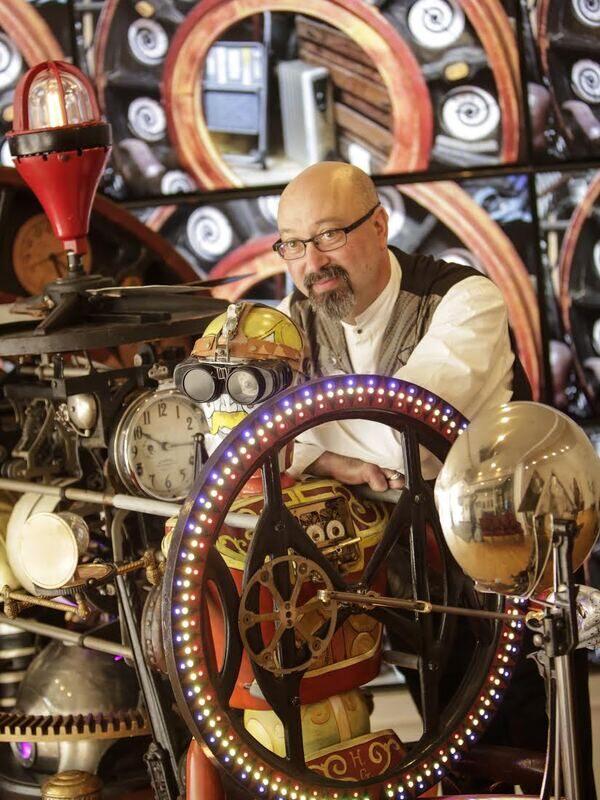 """Bruce Rosenbaum, """"The Guru of Steampunk""""."""