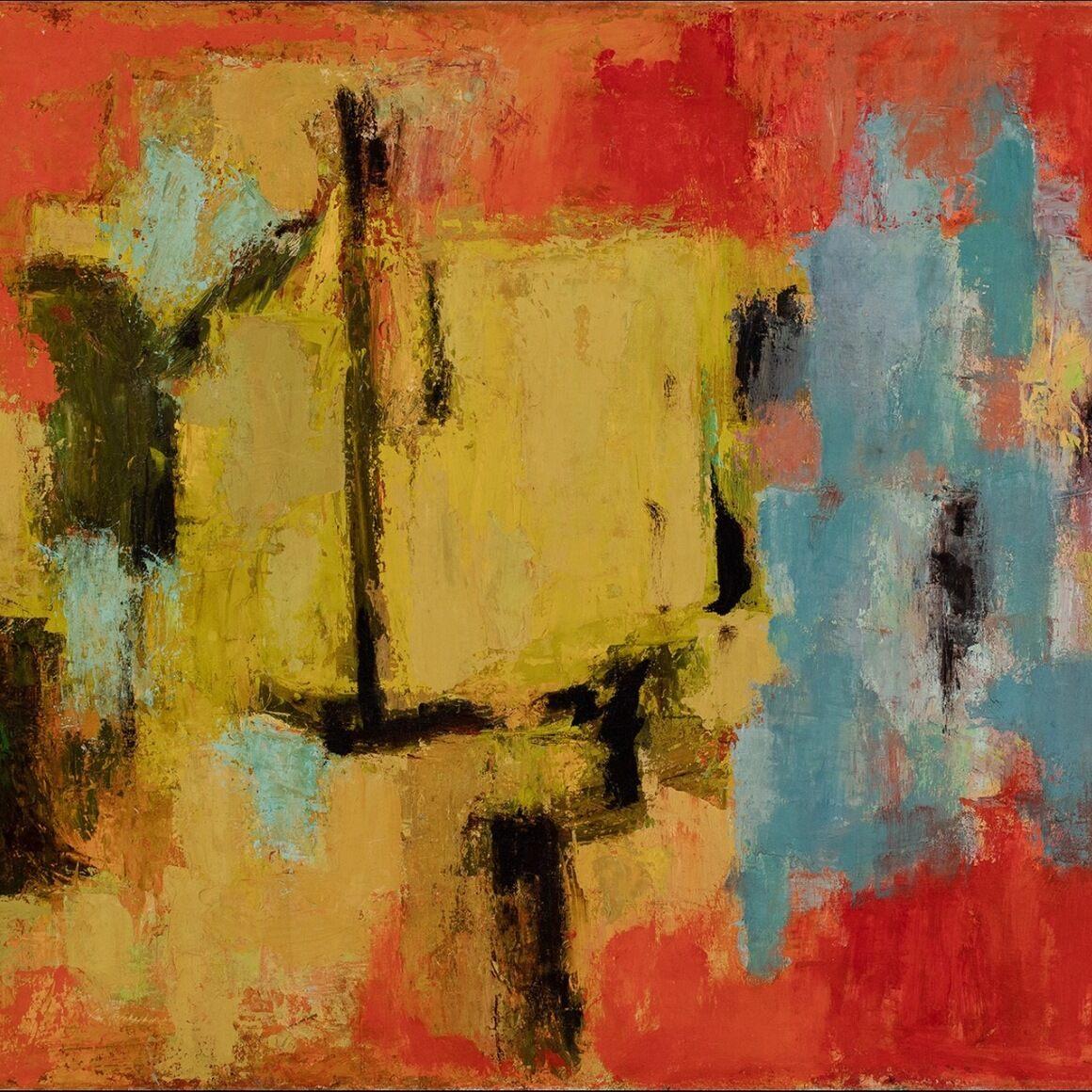 Alma Thomas, Yellow and Blue, 1959