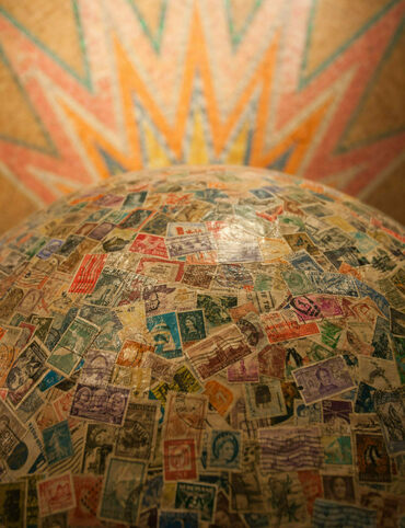 This ball of stamps has been hulking since 1953.