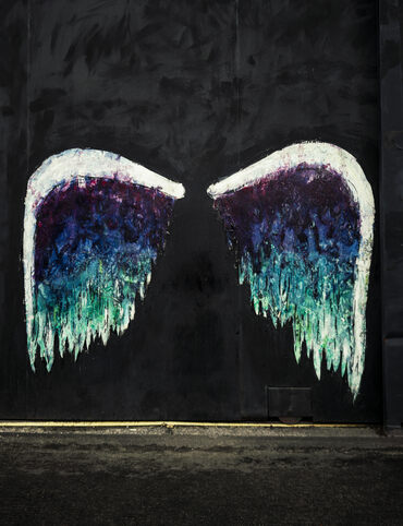 Artist Colette Miller's tribute to the City of Angels.