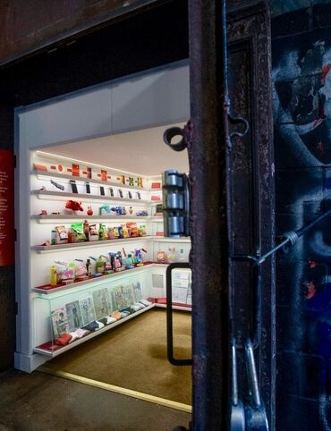 An elevator shaft in Tribeca opens to reveal a museum of small wonders.