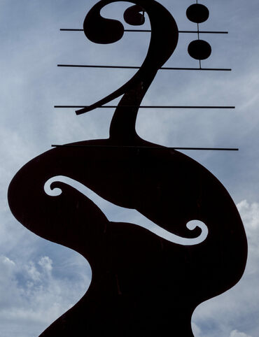 Basshenge is a big homage to a big instrument.