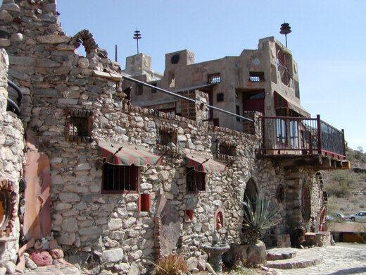 Mystery Castle Phoenix Arizona Atlas Obscura