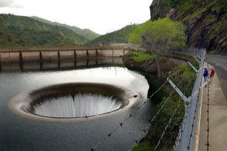 Monticello Dam Morning Glory Spillway – Napa, California