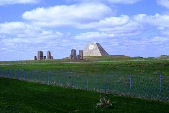 The Pyramid of North Dakota – Nekoma, North Dakota - Atlas