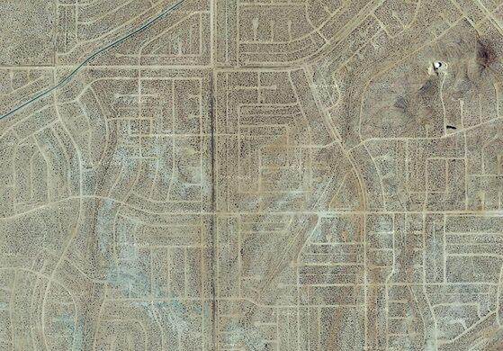 California City The Unbuilt Suburb California City California