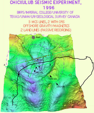 Chicxulub Crater – Mexico - Atlas Obscura on charlevoix map, manson crater, chesapeake bay map, yellowstone caldera, valle de bravo map, valladolid map, manicouagan crater, campeche map, shiva crater, chesapeake bay impact crater, extinction event, governor's harbour map, san miguel map, san jose del cabo map, la cruz de huanacaxtle map, saint martin map, patzcuaro map, beaverhead crater, wilkes land crater, vredefort crater, meteor crater, sudbury basin, late devonian extinction, la penita map, puerto nuevo map, sudbury map, isla mujeres map, chiapas map, san bruno map, san benito map, coba map, acraman crater, mexico map, impact crater, snowball earth,