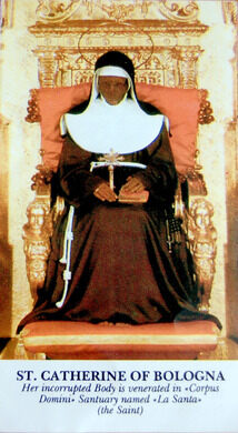 Saint Catherine Of Bologna Bologna Italy Atlas Obscura