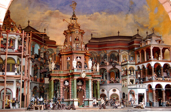 view all photos the water powered mechanical theater - Water Garden Theater
