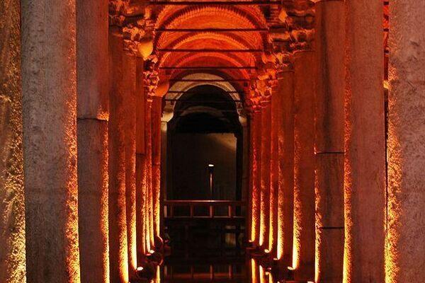 Basilica Cisterns Of Istanbul Istanbul Turkey Atlas