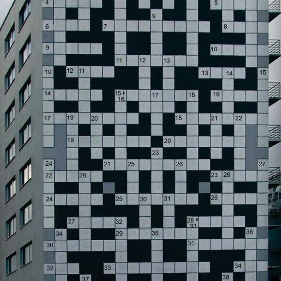 Giant Crossword Of Lviv Lviv Ukraine Atlas Obscura