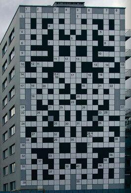 Giant Crossword of Lviv – Lviv, Ukraine - Atlas Obscura