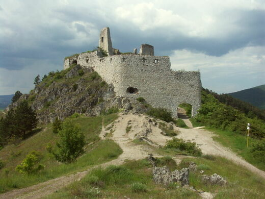 Ruins of Cachtice Castle – Čachtice, Slovakia - Atlas Obscura