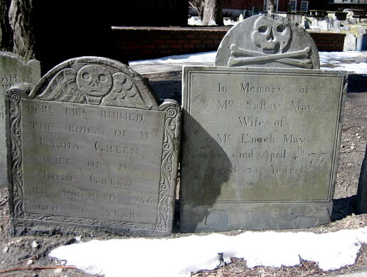 Boston S Old Burying Grounds Boston Massachusetts
