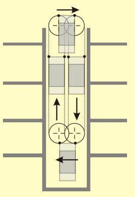paternoster lift at prague city hall prague czechia atlas obscura