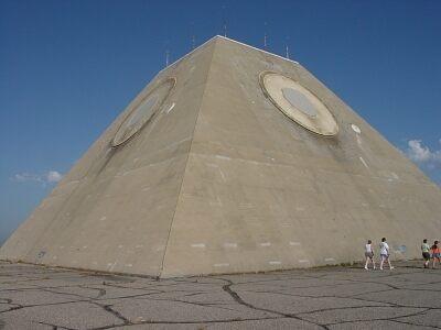 The Pyramid of North Dakota – Nekoma, North Dakota - Atlas Obscura