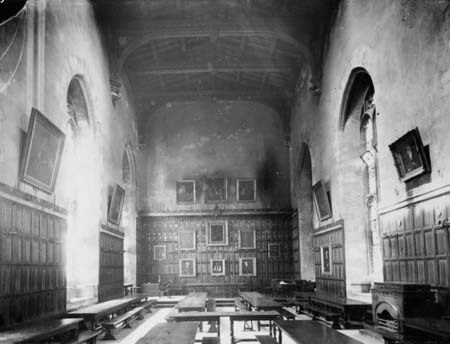 Oak Beams, New College Oxford – Oxford, England - Atlas Obscura