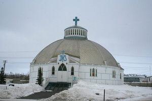 The Igloo Church.