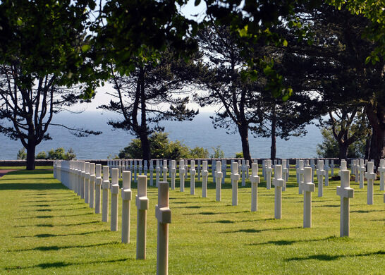 Image result for the american cemetery in normandy france