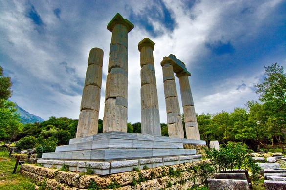 Samothrace Sanctuary of the Great Gods – Paleopoli, Greece ...